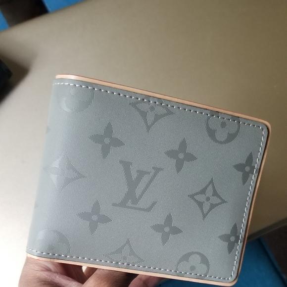 ba3dc583bf9e Louis Vuitton Other - Titanium monogram Louis Vuitton multiple wallet